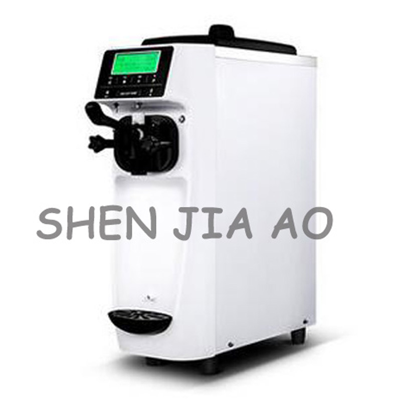 QBL-988 Commercial desktop soft ice cream machine small stainless steel ice cream machine soft ice cream maker 12-16L/h 220V 1PC commercial automatic hard ice cream maker 304 stainless steel hard ice cream machine snowball machine 220v 1400w 1pc 220v 1400w
