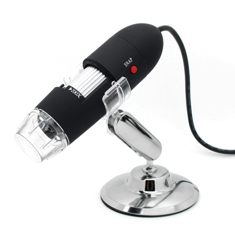 500X Microscope USB LED Microscope 50X-500X 2MP USB Magnifier for Computer with Holder Computer Magnifier