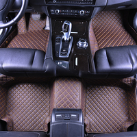 SUV MPV Seven Seats Custom Fit Car Floor Mats Dust Proof Mat Anti Slip Mat Carpet