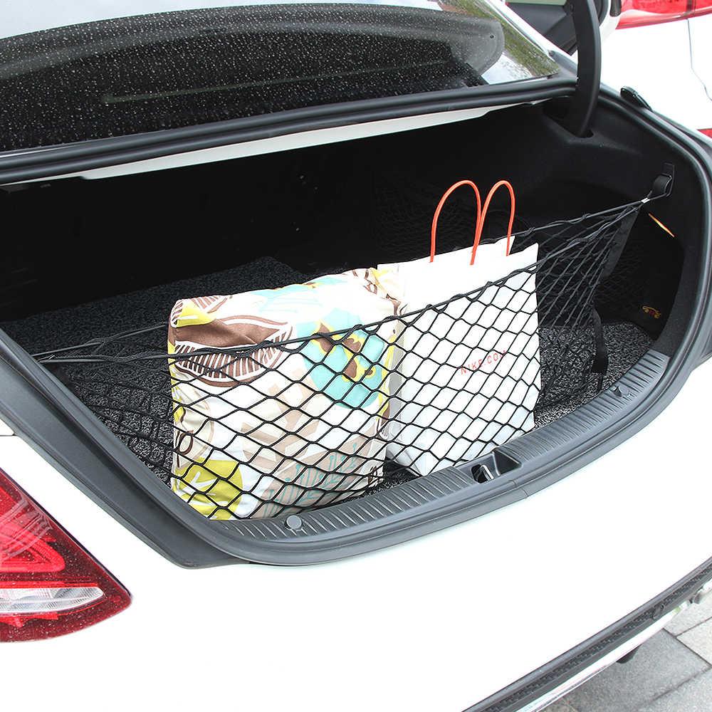 Багажник автомобиля заднего хранения грузовой багаж нейлон эластичная сетка для
