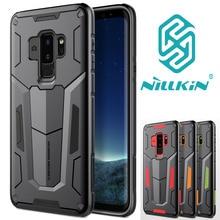 NILLKIN Defender Tough กันกระแทก Dual Layer Hybrid Hard Armour สำหรับ Samsung Galaxy S10 S10 + S9 S 9 Plus S8 S8 +
