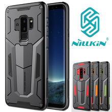 Nillkin Defender Tough Shockproof Dual Layer Hybrid Hard Cover Armour Bag Case Voor Samsung Galaxy S10 S10 + S9 S 9 Plus S8 S8 +