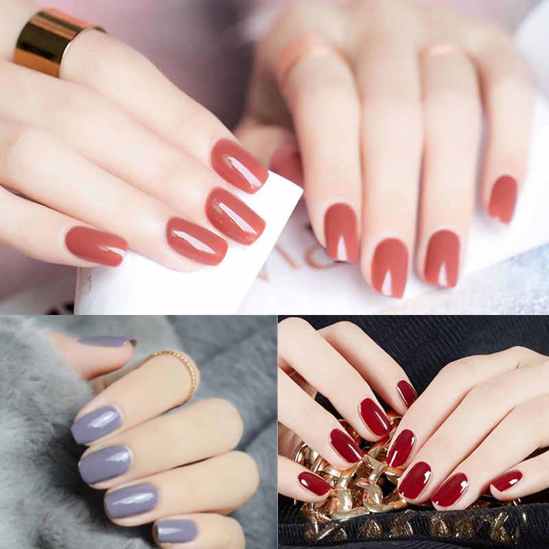 54 colores Bling neón Gel pintura UV Gel barniz remojo brillante rojo híbrido Gellak uñas arte para UV esmalte de uñas de Gel de Color