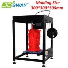3 DSWAY XCR335 FDM 3D Принтер 300*300*500 мм Большой Размер DIY 3D Комплект принтера с Химера Циклоп Hotend Комплект Сенсорный Экран PLA накаливания