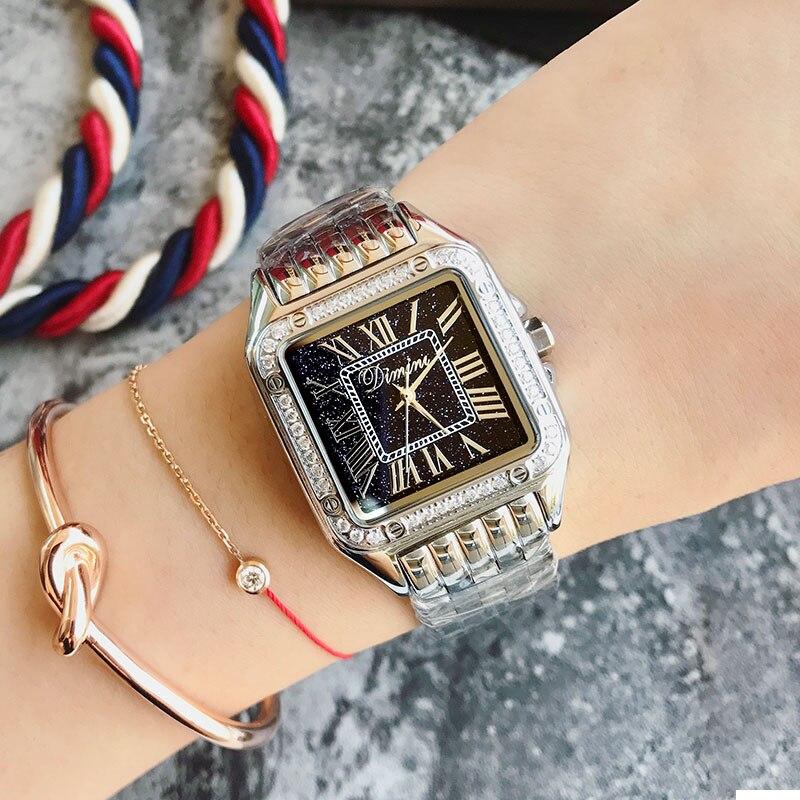 2018 женские наручные часы Стальные Новые женские часы классические роскошные Брендовые женские часы Relogio Feminino - 4