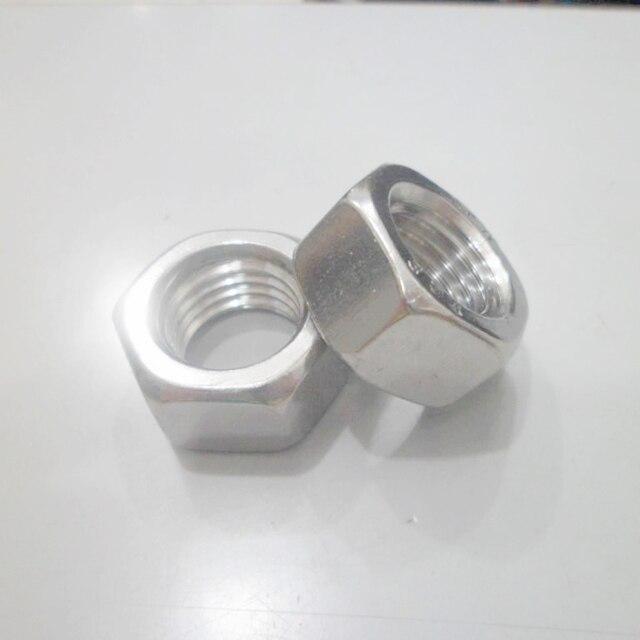 GB6175 304 stainless steel hexagon nut M5 hex nut bolt nut hardware 10pcs