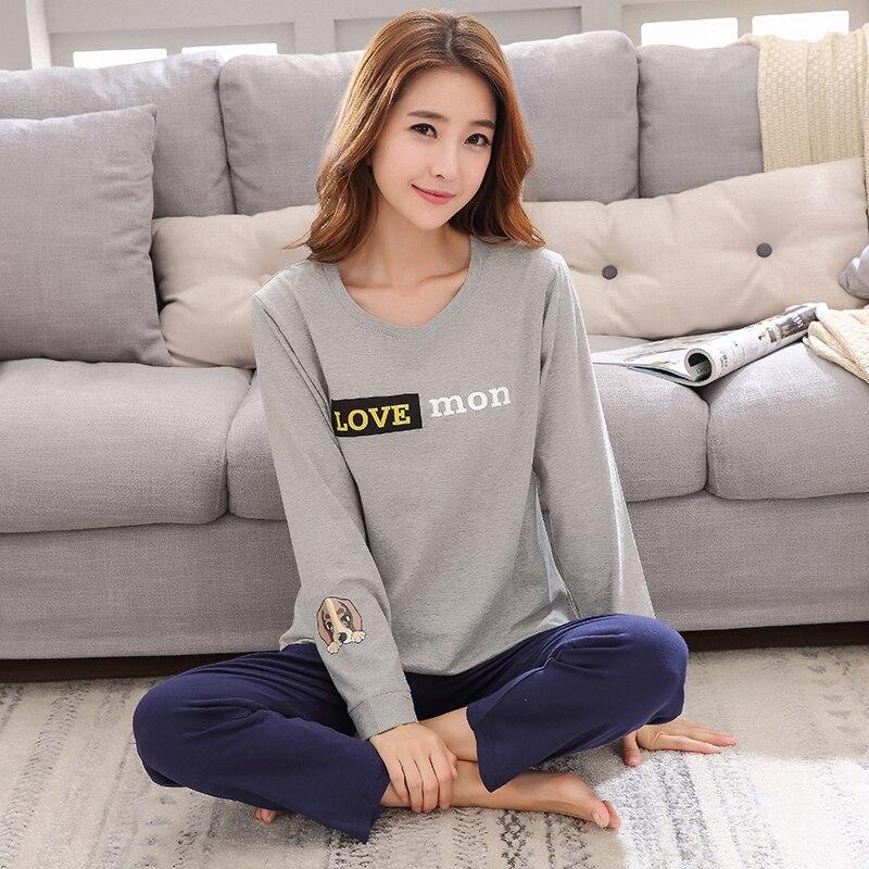 Hot Sale Quality 100 Cotton Pajamas Women Sweet Pijamas Young Lady Pajama Sets Sweet Girl Sleepwear