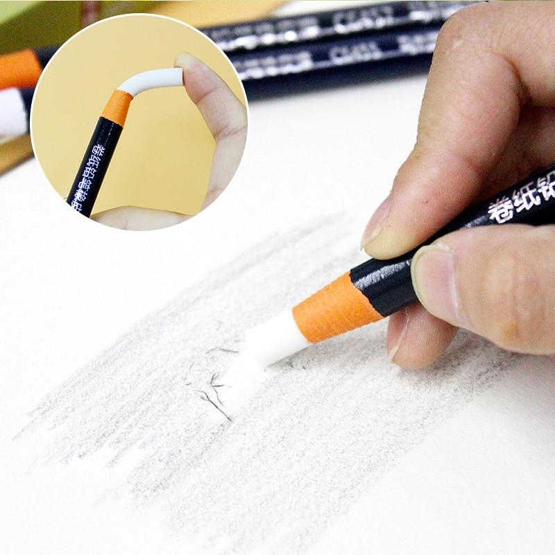 Pencil highlight soft eraser art pen for sketch drawing detail processing pull cord torn paper eraser Elastone art supplies