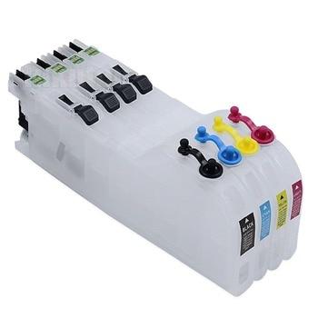 Cartucho de tinta recargable Ink WAY 4 XL para Brother LC223 MFC-J5625DW J5720DW DCP-J4120DW, etc., con CHIPS