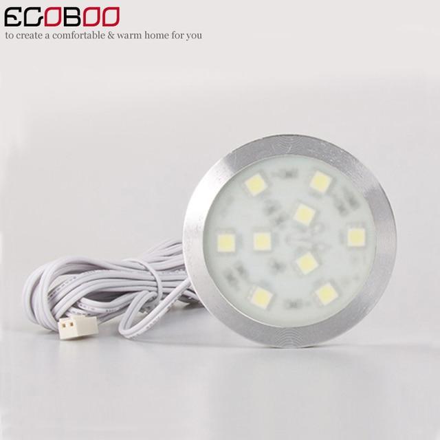 cupboard lighting led. (10pcs/lot) Led Bulb Ceiling Downlights 2W 12V DC Ultra Bright Under Cabinet Cupboard Lighting