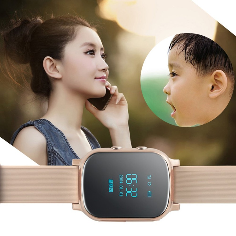 GPS Tracker Smart Watch Children 0.96inch GPS Bracelet Google Map SOS Button Tracker GSM GPS Locator Clock Smartwatch Wristwatch