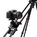 """Новый 100 см/40 """"углеродного Волокна Четыре Подшипника Видео Система Стабилизации для DSLR Камеры Видеокамеры Трек Слайдер Долли Супер Свет Dhl"""