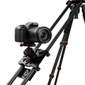 "New 100cm/40"" Carbon Fiber Four Bearing Video Track Slider Dolly Stabilizer System for DSLR Camera Camcorder Super Light  By DHL"