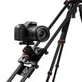 """Nova 100 cm/40 """"Fibra de carbono De Quatro Rolamento Sistema Estabilizador de Vídeo Trilha Slider Dolly para DSLR Camera Filmadora Super Luz Por DHL"""