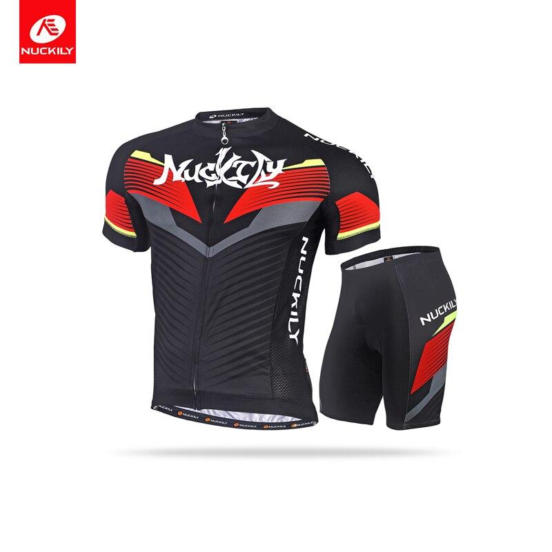 Лето Велоспорт Джерси наборы для мужчин дышащий с коротким рукавом футболка 3D гель Pad короткие про командный вид спорта, Качество MTB велосипед Велоспорт устанавливает
