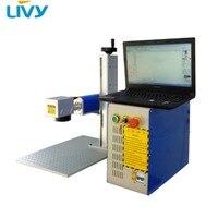 fiber laser marker hardware steel pipe 30w laser marking machine