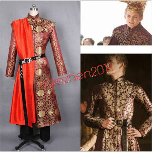 King Costume Adult Medieval Renaissance Prince Game of Thrones Fancy Dress