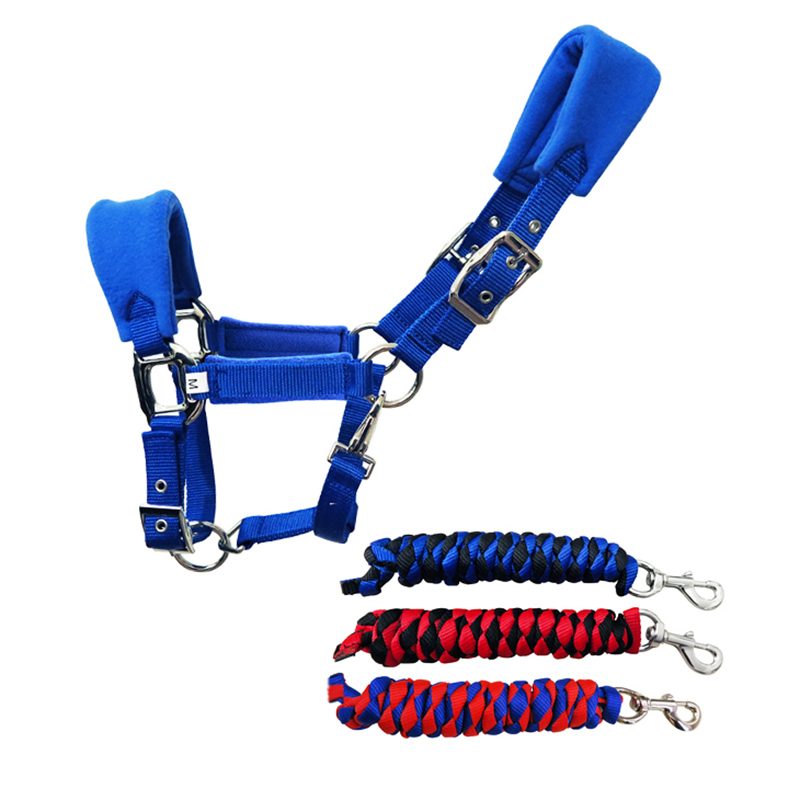 High Quality Horse Halter Leading Horse Bridle Equestrian Cheval Horse Riding Racing Equipment Paardensport Z $