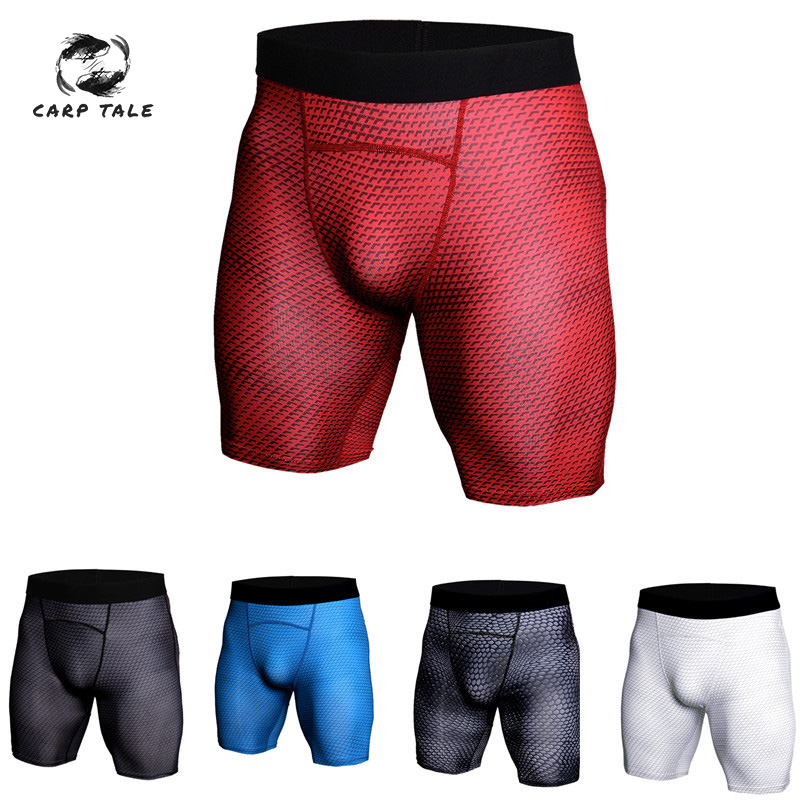 Sports Tight Shorts Men Training Quick-drying Compression Camouflage Shorts Basketball Football Outdoor Running Cycling