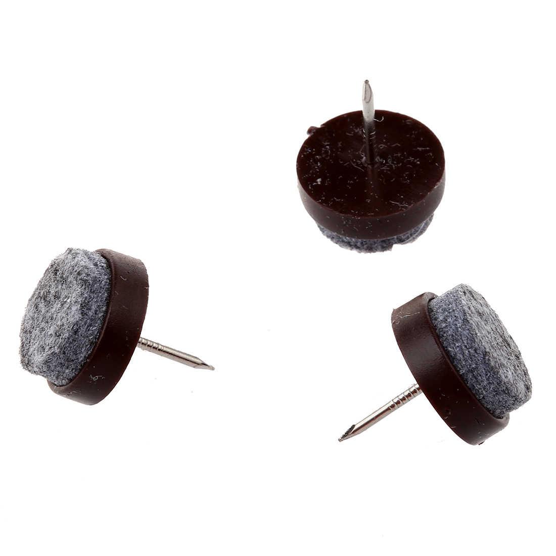 UPPERX 50 шт. стул для ног напольный Войлок накладки для скольжения DIY ногтей протекторы 20 мм Диаметр