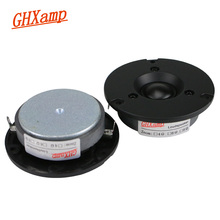 Динамик высокой частоты GHXAMP 3 дюйма 6 Ом 40 Вт купольная Hi Fi шелковая пленка для домашнего кинотеатра сверхвысокие высокие тройные звуки громкий динамик 87 дБ 18 кГц 2 шт.