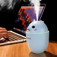 Usb mini humidifier Home mute bedroom pregnant woman baby office Portable vehicle mounted atomizer humidifier Gift giving