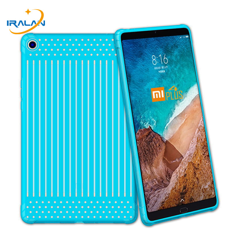 2018 New Soft TPU Case For Xiaomi MiPad 4 Plus Mi Pad 4 10 Plus 10.1 inch Shockproof Silicone Protective Cover free shipping 8 case for xiaomi mi pad 4 silicone soft back cover shell for xiaomi mipad 4 case shockproof thin slim tpu protective cover