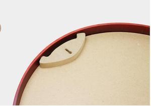 Image 3 - 20 31.5 40 50 سنتيمتر إطار صور مستديرة 20 بوصة الخشب غرفة المعيشة الإبداعية الجدار الشنق إطار الصورة كبيرة الحجم خشبية الجدار الديكور