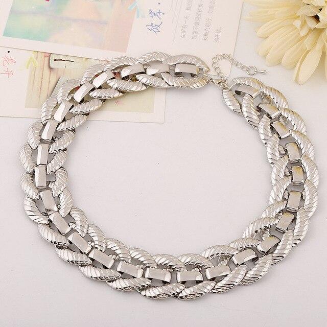 Фото ожерелье lzhlq в стиле стимпанк женские массивные ожерелья и цена