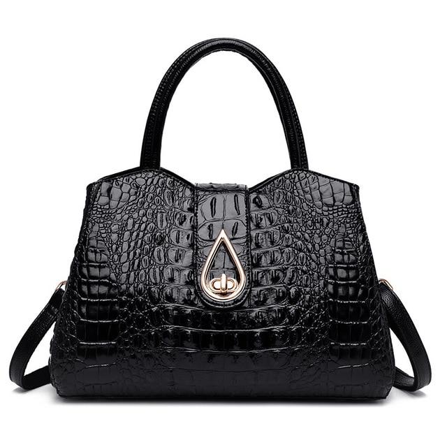 Crocodile Genuine Leather...