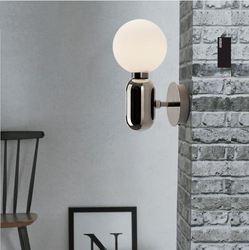 Prosta europejska nowoczesna osobowość twórcza sypialnia ganek nocny korytarz balkon salon oświetlenie LED do pokoju kinkiet