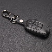 Newest Leather Car Key Cover For VW Polo Passat B5 Golf 4 5 6 Jetta Mk6