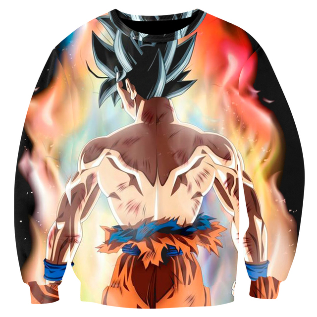 Cloudstyle Dragon Ball Super 3D Sweatshirt 2