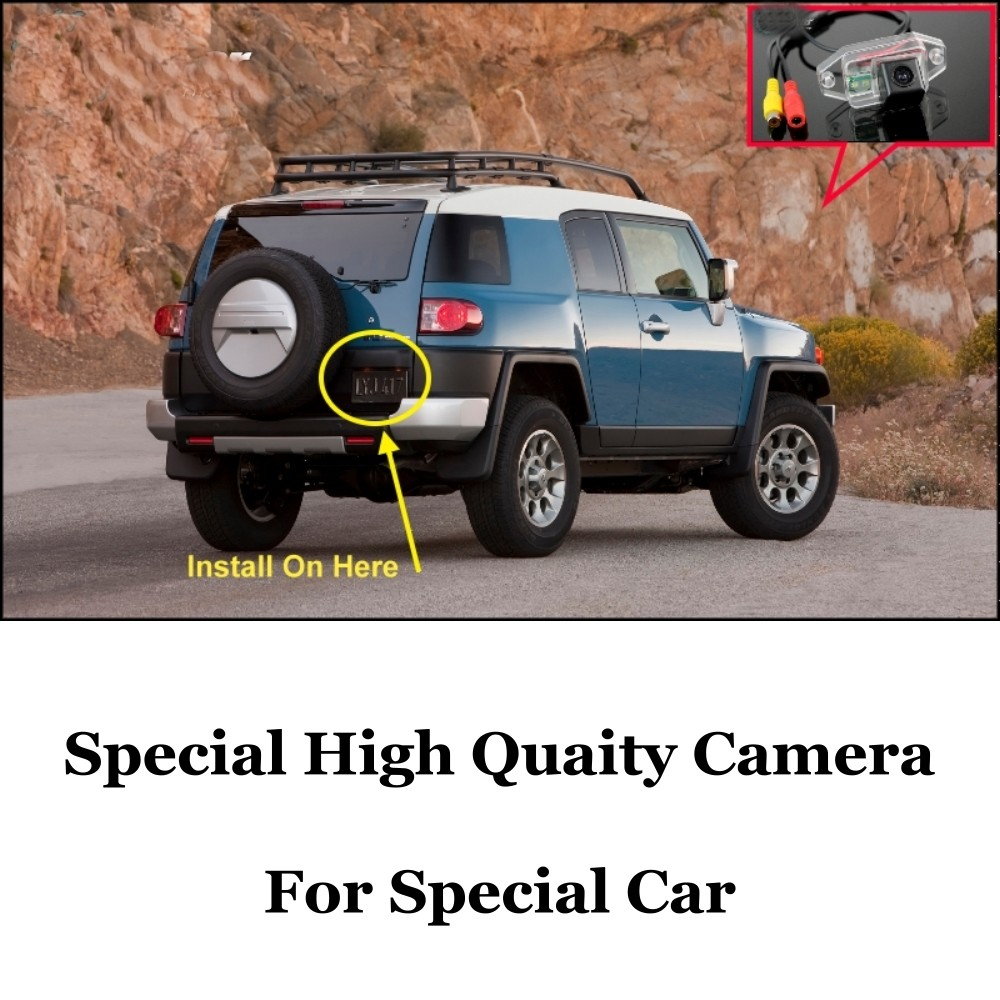 Car Camera For TOYOTA FJ Cruiser High Quality Rear View Back Up Camera For Friends Use CCD + RCACar