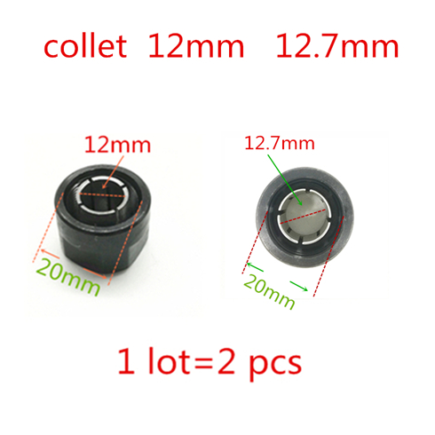 Collet Cone Nut  Chuck 12.7mm 1/2-inch 1/4-inch  For WORX WX15RT.1  WU600.2 WU601.2  For RYOBI