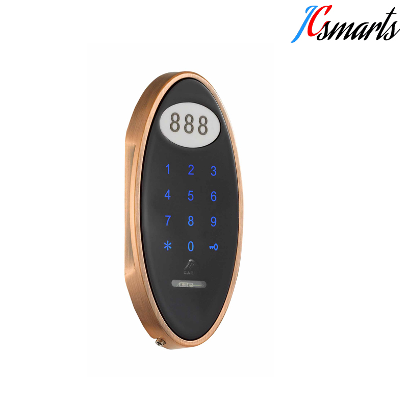 Competitive price electric RFID password sauna cabinet lock for swimming pool gym locker electronic password cabinet lock induction touch keypad password key lock digital electric cabinet coded locker