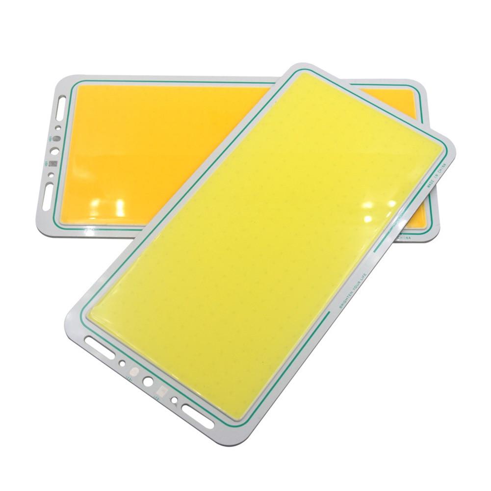 12 В 70 Вт 7000лм светодиодный панельный светильник COB сбалансированный 220x113 мм белый/теплый 88 WWO66