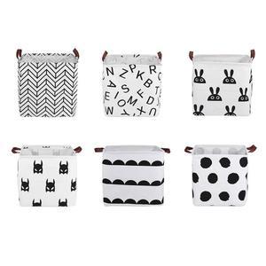 Foldable Laundry Basket Canvas