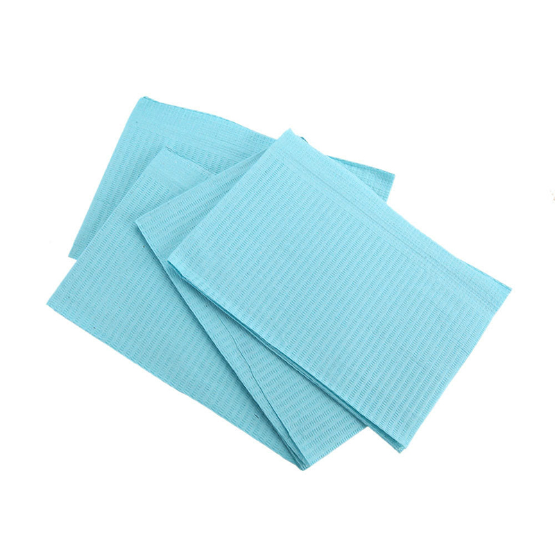 125pcs Dental Patient Bibs Dental Medical Clinical Water-Resistant Sheets Tattoo Accessories english patient