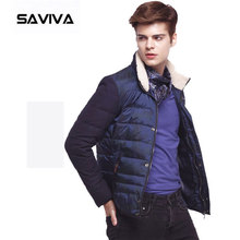 europe style winbreaker men winter jacket down parka coat outwear warm down jacket for men 2016