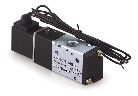 5PCS Free shipping Coil belt line type 3 port 2 position Solenoid Valve 3V110-06-NO normally open,have DC24v,DC12V,AC110V,AC220V free shipping dsg 02 3c4 rc 3 8 solenoid operated directional valve 220v ac terminal box type or plug in connector type