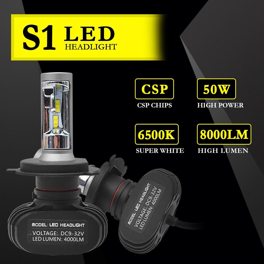 H4 Hed H7 H1 H11 Žarnice za žaromete S1 CSP čipi H3 H8 H9 HB3 HB4 - Avtomobilske luči - Fotografija 2