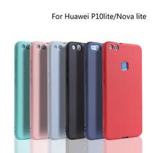 Xindiman phone case for huawei P10lite candy color silicone TPU fundas P10case ultra thin P10plus cover