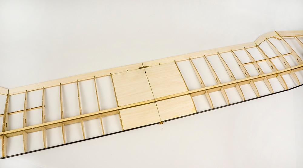 ბალზას ხის თვითმფრინავის - დისტანციური მართვის სათამაშოები - ფოტო 6