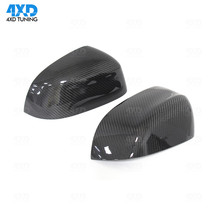 for BMW X3 F25 & X4 F26 X5 F15 X6 F16 2014 2015 2016 Carbon Fiber Mirror Cover Rear View Add on Style