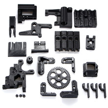 NEW 26pcs ABS Printed Parts Kit For RepRap Prusa i3 Rework Black PLA 3D printer DIY Durable Quality