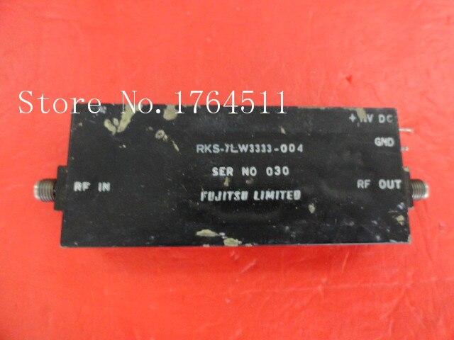 [BELLA] SPC RKS-7LW3333-004 7-8GHz G:6dB Vin:15V Supply Amplifier SMA