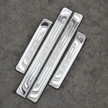 High Quality 4 Piece external stainless steel door sill scuff plate for Honda CRV CR-V 2012 2013 2014 2015 car sticker