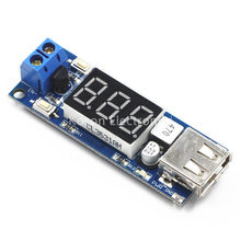5V DC-DC Step Down Power Module LED Display with USB Charger for phone Arduino(China)