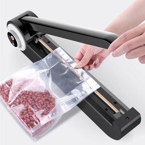 Image 3 - YTK scelleuse manuelle pour aliments, appareil demballage à pression manuelle, thermoscelleuse en sac Poly à pression pulsée, 220V
